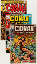 Bronze Age (1970-1979):Adventure, Conan the Barbarian Group (Marvel, 1970-73) Condition: Average FN-.... (Total: 33 Comic Books)
