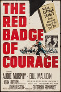 "Movie Posters:War, The Red Badge of Courage & Other Lot (MGM, 1951). One Sheets(2) (27"" X 41""). War.. ... (Total: 2 Items)"