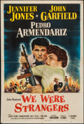 "Movie Posters:Adventure, We Were Strangers (Columbia, 1949). One Sheet (27"" X 41"").Adventure.. ..."
