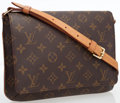 Luxury Accessories:Bags, Louis Vuitton Classic Monogram Canvas Musette Tango Shoulder Bag....