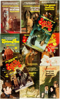 Books:Mystery & Detective Fiction, [Mystery]. Group of Eleven Solar Pons Paperbacks. New York/Los Angeles; Pinnacle, 1974-1980. Publisher's printed wrappers. S... (Total: 11 Items)