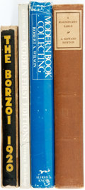 Books:Books about Books, [Books about Books]. Group of Four Books. Various publishers and dates. Original publisher's bindings, one with dust jacket.... (Total: 4 Items)