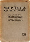 Books:Art & Architecture, [J.M.W. Turner]. The Watercolors of J.M.W. Turner. The Studio Special Number, 1909. London, [1909]. With color i...