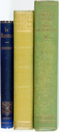 Books:Literature 1900-up, [Poetry] [Emily Dickinson, Alfred Lord Tennyson, William Butler Yeats]. Group of Three Books. Various publishers and dates. ... (Total: 3 Items)