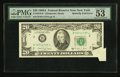 Error Notes:Foldovers, Fr. 2076-B $20 1988A Federal Reserve Note. PMG About Uncirculated53 EPQ.. ...