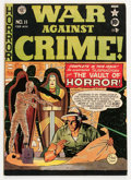 Golden Age (1938-1955):Crime, War Against Crime #11 (EC, 1950) Condition: VG-....