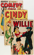 Golden Age (1938-1955):Miscellaneous, Timely Golden Age Teen Comedy Group (Timely, 1946-1949).... (Total: 11 Original Art)