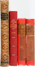Books:Literature Pre-1900, [Thomas Rowlandson] Group of Three Publications of Doctor Syntax.Various publishers and dates. Publisher's original binding...(Total: 4 Items)