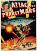 Golden Age (1938-1955):Science Fiction, Attack on Planet Mars nn (Avon, 1951) Condition: VG....