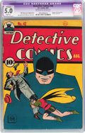 Golden Age (1938-1955):Superhero, Detective Comics #42 (DC, 1940) CGC Apparent VG/FN 5.0 Slight (A) Off-white to white pages....