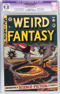 Golden Age (1938-1955):Science Fiction, Weird Fantasy #11 (EC, 1952) CGC Apparent VF/NM 9.0 Slight (P)Cream to off-white pages....