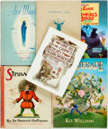 Books:Children's Books, [Children's]. Group of Six Children's Books. Octavos. Various publishers and dates. Original cloth bindings; four in dust ja... (Total: 6 Items)