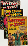Golden Age (1938-1955):Science Fiction, Mystery in Space #20, 24, and 29 Group (DC, 1954-56) Condition:Average FN.... (Total: 3 Comic Books)