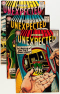 Silver Age (1956-1969):Horror, Tales of the Unexpected Group (DC, 1957-58) Condition: AverageVG/FN.... (Total: 9 Comic Books)