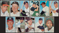 Baseball Cards:Autographs, 1964 Topps Giants Baseball Signed Stars & Hall of Famers Group (11). ...