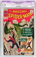 Silver Age (1956-1969):Superhero, The Amazing Spider-Man #2 (Marvel, 1963) CGC Apparent VF- 7.5 Slight (A) Cream to off-white pages....