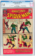 Silver Age (1956-1969):Superhero, The Amazing Spider-Man #4 (Marvel, 1963) CGC FN/VF 7.0 Off-white to white pages....