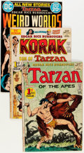 Bronze Age (1970-1979):Adventure, DC Bronze Age Edgar Rice Burroughs-Related Comics Group (DC, 1970s)Condition: Average FN+.... (Total: 29 Comic Books)