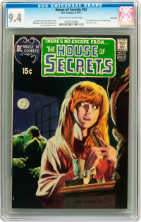 House of Secrets #92 Savannah pedigree (DC, 1971) CGC NM 9.4 Off-white to white pages