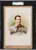 Baseball Cards:Singles (Pre-1930), 1894 N142 Honest Cabinet Ed Delahanty SGC 50 VG/EX 4 - The Finest Example on Record. ...
