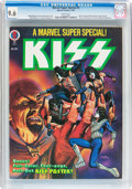 Magazines:Miscellaneous, Marvel Super Special #5 KISS (Marvel, 1978) CGC NM+ 9.6 Whitepages....