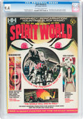 Bronze Age (1970-1979):Horror, Spirit World #1 (Hampshire Distributors, 1971) CGC NM 9.4 Off-whiteto white pages....