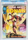 Magazines:Adventure, Savage Sword of Conan #2 (Marvel, 1974) CGC NM+ 9.6 Off-white to white pages....
