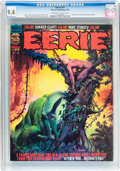 Magazines:Horror, Eerie #77, 80, and 81 CGC-Graded Group (Warren, 1976-77) Condition: CGC NM 9.4.... (Total: 3 Comic Books)
