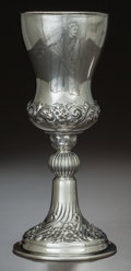 Silver Holloware, American:Cups, AN AMERICAN SILVER TROPHY CUP, Whiting Manufacturing Company, NewYork, New York, circa 1915. Marks: (W-griffin), WHITING ...