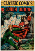 Golden Age (1938-1955):Classics Illustrated, Classic Comics #32 Lorna Doone - First Edition (Gilberton,1946)....