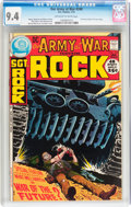 Bronze Age (1970-1979):War, Our Army at War #240 (DC, 1972) CGC NM 9.4 Off-white to white pages....