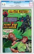Bronze Age (1970-1979):Western, All-Star Western #3 El Diablo and Outlaw (DC, 1971) CGC VF/NM 9.0 Off-white to white pages....