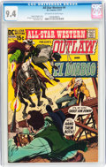 Bronze Age (1970-1979):Western, All-Star Western #4 Outlaw and El Diablo (DC, 1971) CGC NM 9.4 Off-white to white pages....