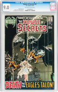 Bronze Age (1970-1979):Horror, House of Secrets #91 (DC, 1971) CGC VF/NM 9.0 Off-white to whitepages....