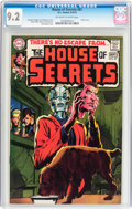 Bronze Age (1970-1979):Horror, House of Secrets #87 (DC, 1970) CGC NM- 9.2 Off-white to whitepages....
