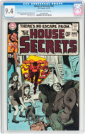 Bronze Age (1970-1979):Horror, House of Secrets #84 (DC, 1970) CGC NM 9.4 Off-white to whitepages....