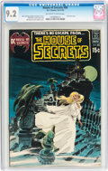 Bronze Age (1970-1979):Horror, House of Secrets #88 (DC, 1970) CGC NM- 9.2 Off-white to whitepages....