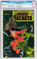 Bronze Age (1970-1979):Horror, House of Secrets #90 (DC, 1971) CGC NM+ 9.6 Off-white to whitepages....