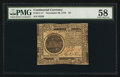 Colonial Notes:Continental Congress Issues, Continental Currency November 29, 1775 $7 PMG Choice About Uncirculated 58.. ...