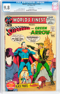 World's Finest Comics #210 (DC, 1972) CGC NM/MT 9.8 White pages