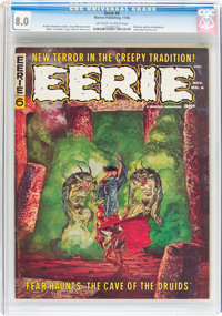 Eerie #6 CGC-Graded Group (Warren, 1966).... (Total: 4 Comic Books)