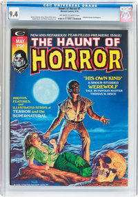 The Haunt of Horror #1 (Curtis , 1974) CGC NM 9.4 Off-white to white pages