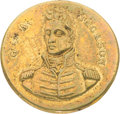 Political:Tokens & Medals, Andrew Jackson: Ultra Rare Portrait Clothing Button....