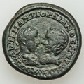 Ancients:Roman Provincial , Ancients: THRACE. Mesembria. Gordian III with Tranquillina (AD238-244). AE 25 mm (11.58 gm)....