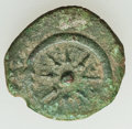 Ancients:Judaea, Ancients: JUDAEA. Hasmoneans. Alexander Jannaeus (Yehonatan)(103-76 BC). Æ prutah (2.99 gm)....