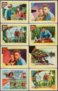 "Movie Posters:Adventure, Bwana Devil (United Artists, 1953/R-1954). Title Lobby Card &Lobby Cards (10) (11"" X 14"") 3-D Style & Regular. Adventure..... (Total: 11 Items)"