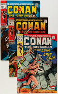 Bronze Age (1970-1979):Adventure, Conan the Barbarian Group (Marvel, 1971-73) Condition: Average FN/VF.... (Total: 12 Comic Books)