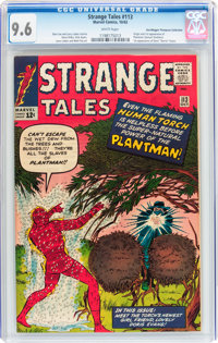 Strange Tales #113 Don/Maggie Thompson Collection pedigree (Marvel, 1963) CGC NM+ 9.6 White pages