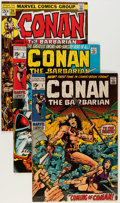 Bronze Age (1970-1979):Adventure, Conan the Barbarian Group (Marvel, 1970-73) Condition: Average VG/FN.... (Total: 11 Comic Books)