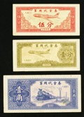 World Currency: , China Military Payment Certificates of 1965.. ... (Total: 3 notes)